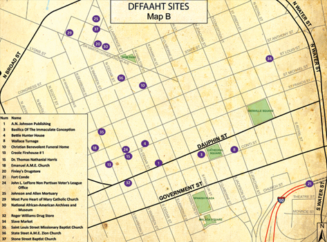 African American Heritage Trail > Tour Maps on